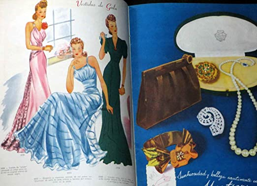 Para Ti / For You Fashion Couture Style June 1941 Vintage Magazine Like Vogue Fine-Very Fine Condition at Amazons Entertainment Collectibles Store