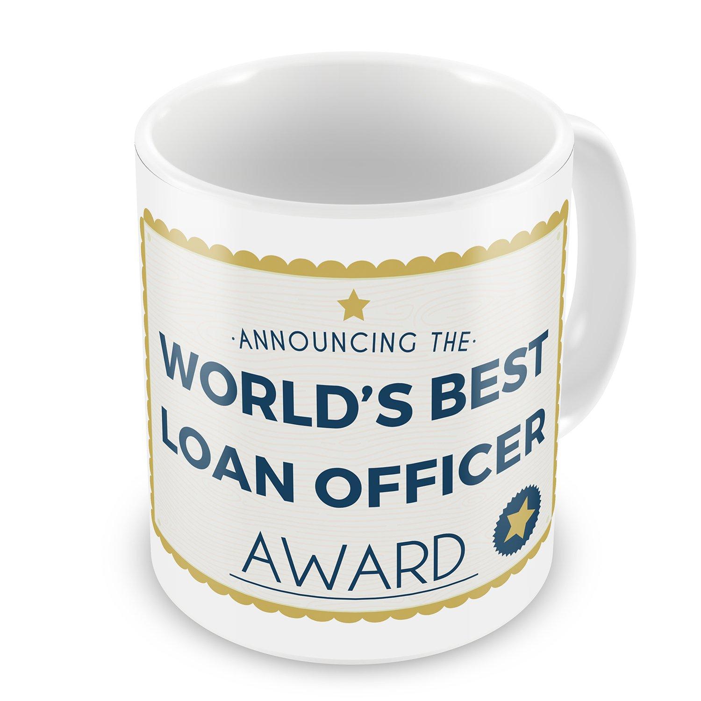 Amazon Coffee Mug Worlds Best Loan Officer Certificate Award
