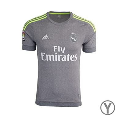 adidas Youth Real Madrid Away Replica Soccer Jersey  Amazon.co.uk ... 10a48433a