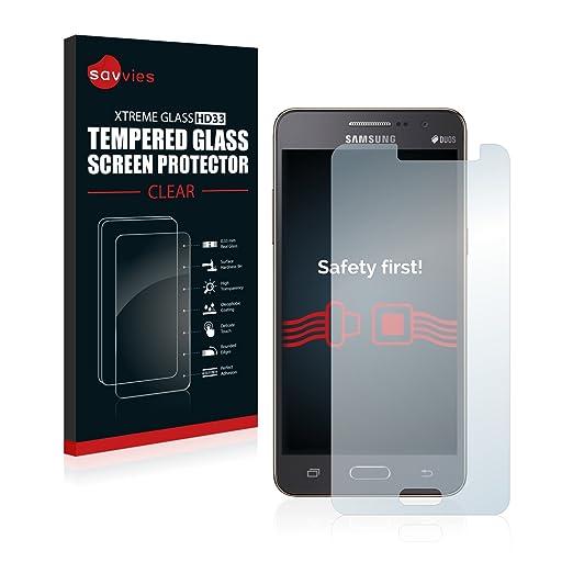28 opinioni per Savvies Vetro Samsung Galaxy Grand Prime SM-G531F Pellicola Vetro Temperato,