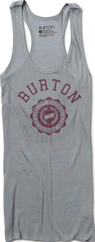 Burton Co-Ed Rib Tank Pewter Womens