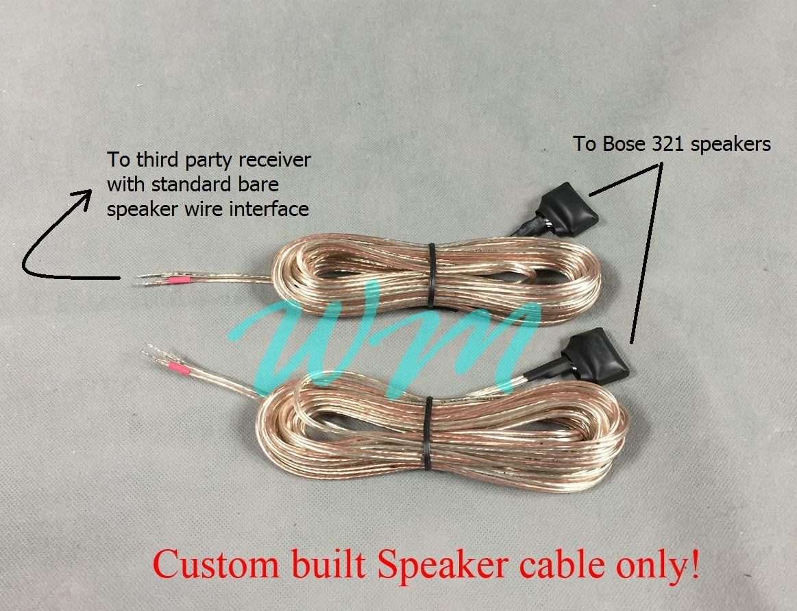 Cable wiring diagram bose definitive technology