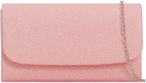 LeahWard Women's Clutch Bag Glitter Wedding Evening Handbag 731