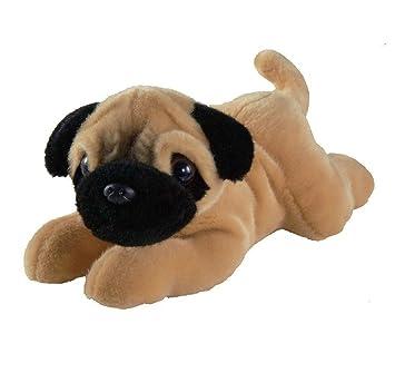 Nature Babies 12 Pug Soft Toy Plush Dog Amazoncouk Toys Games