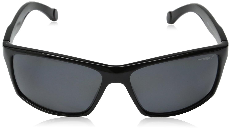 Arnette Boiler AN4207-01 Polarized Rectangular Sunglasses
