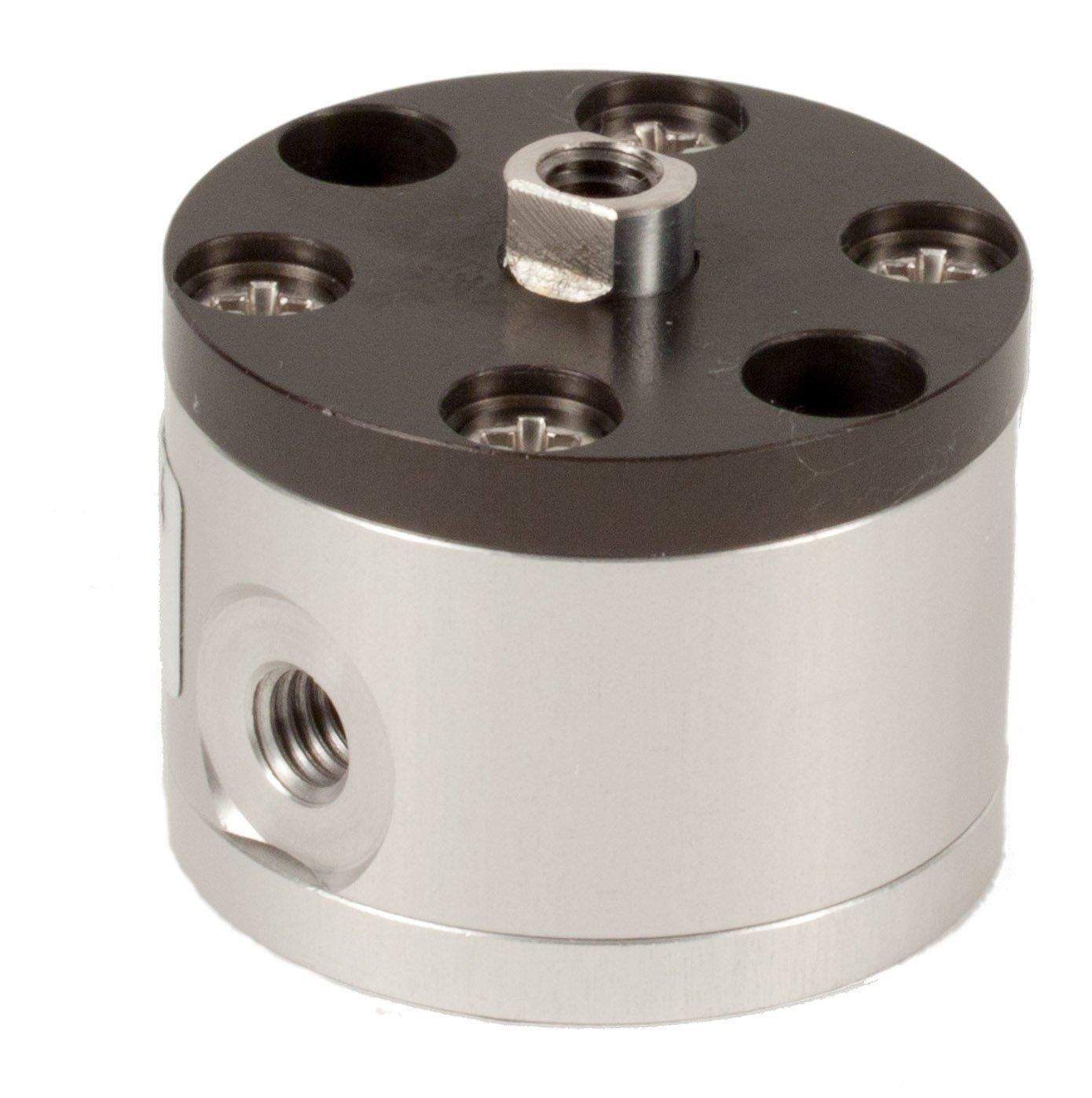 Fabco-Air C-5-X Original Pancake Cylinder, Double Acting, Maximum Pressure of 250 PSI, 1/2' Bore Diameter x 1/4' Stroke 1/2 Bore Diameter x 1/4 Stroke FAB   C-5-X