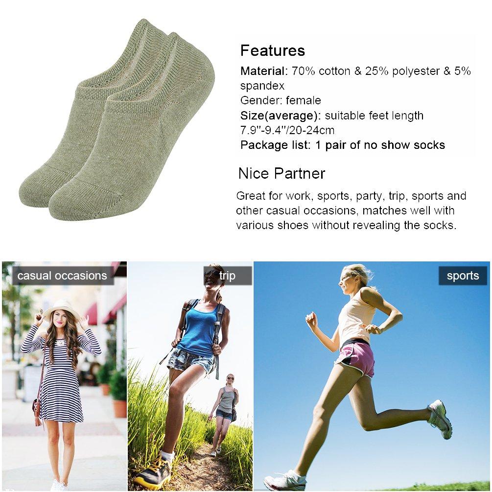Vbiger Damen Yoga Grip Socken Anti-Rutsch-Trendy Barre Grip Fünf Toe Separator Socken mit Silikon-Punkten