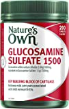 Nature's Own Glucosamine Sulfate 1500 - Maintains Healthy Joints - Relieves Mild Osteoarthritis Symptoms, 200 Tablets