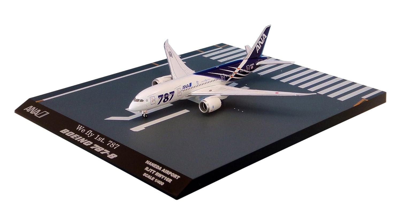 全日空商事 1/400 787-8 JA802A 特別塗装機 主翼 地上姿勢 完成品 B00A0BMRU0