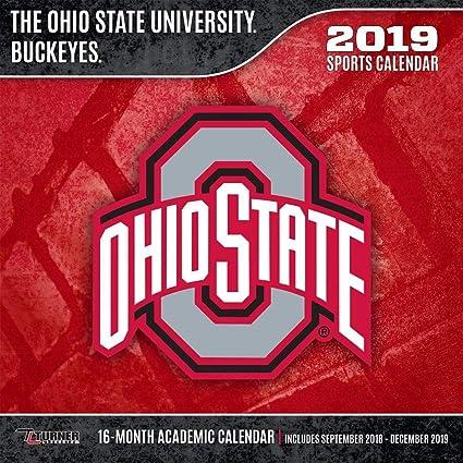Ohio University Academic Calendar.2019 Ohio State Buckeyes Wall Calendar Ohio State Buckeyes By Turner Licensing