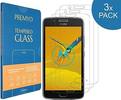 PREMYO 3 Piezas Cristal Templado Protector de Pantalla Compatible ...