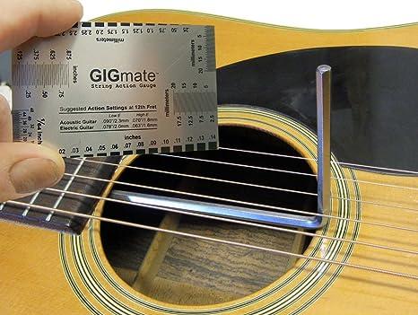 5 mm con extremo de bola llave de guitarra truss rod Plus Acción ...