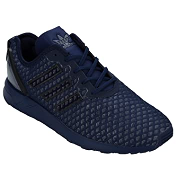 9ef549948 ... clearance adidas mens zx flux adv aq6752 trainers blue black size uk  6.5 80426 8ea65