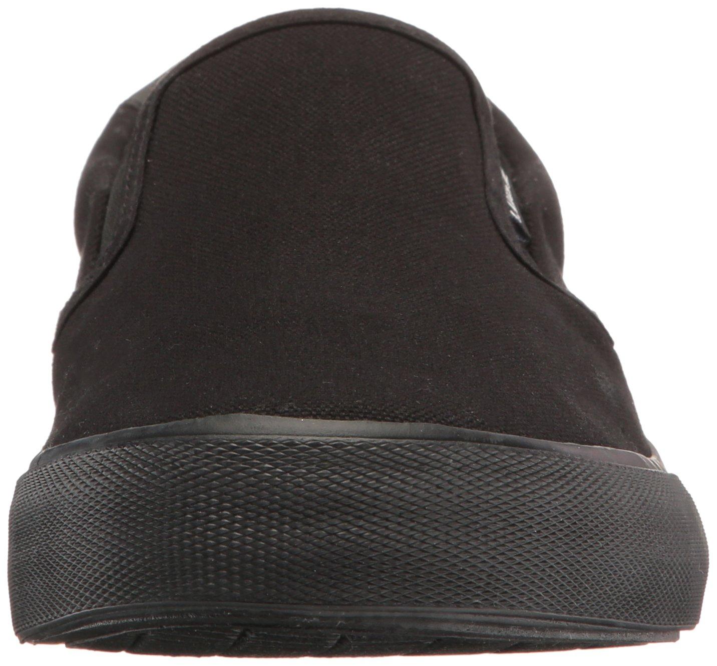 Lugz Men's Clipper Fashion Sneaker, Black, 10 M US