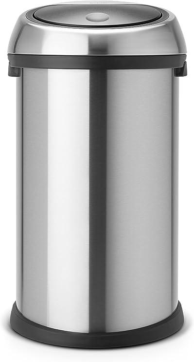 Brabantia Poubelle Touch Bin Couleur Acier Mat 50 Litres