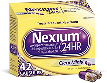 42 Count Nexium 24hr All-Day Protection from Frequent Heartburn Medicine