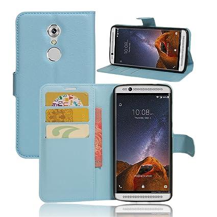Amazon.com: ZTE AXON 7 Mini Case–Manyip PU Leather Stand ...