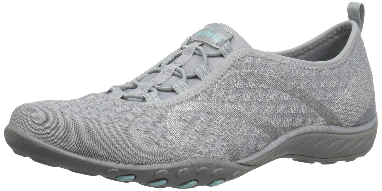 Skechers Breathe Easy-Fortune Knit, Zapatillas para Mujer 41 EU|Gris (Grey)