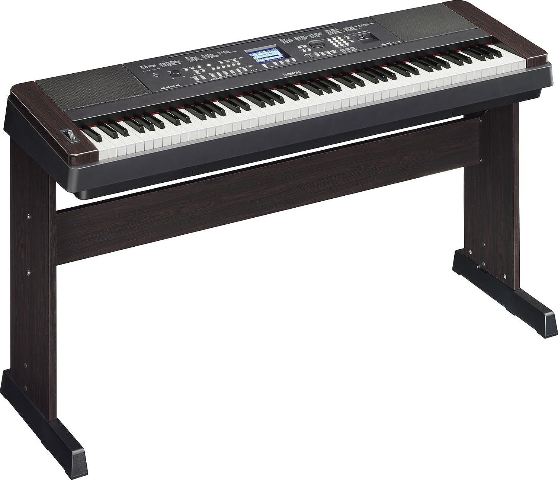 yamaha dgx650b 88 key digital piano bundle with knox