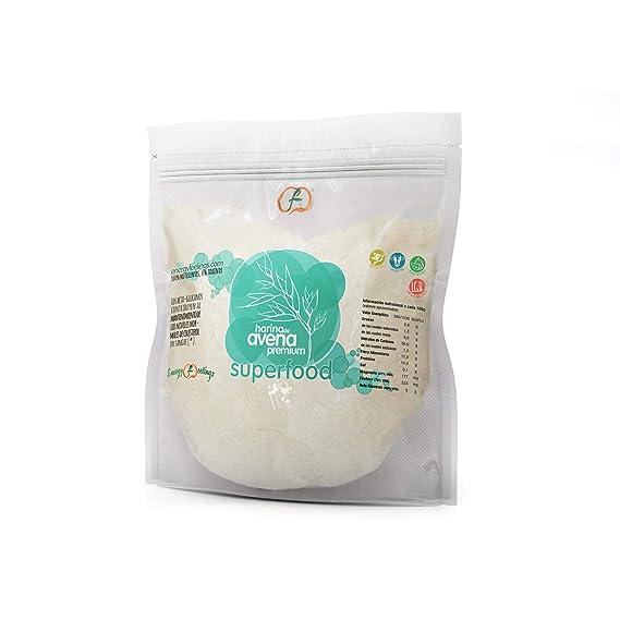Harina de Avena premium ECO sin gluten Energy Feelings 1Kg ...