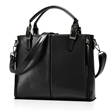 Women Handbags Leather Satchel Purse For Teen Girls Shoulder Crossbody Bags