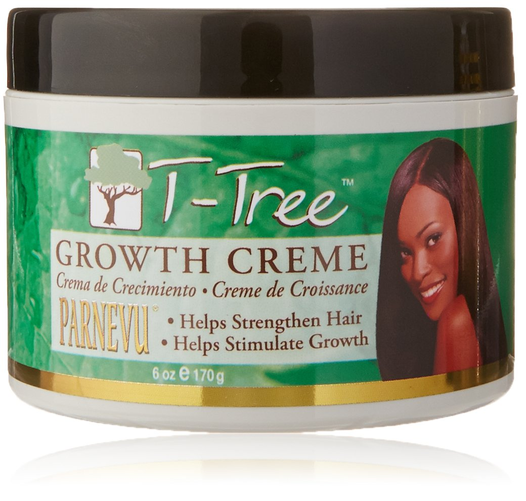 Amazon.com : Parnevu T-Tree Growth Creme, 6 Ounce : Hair Shampoos : Beauty