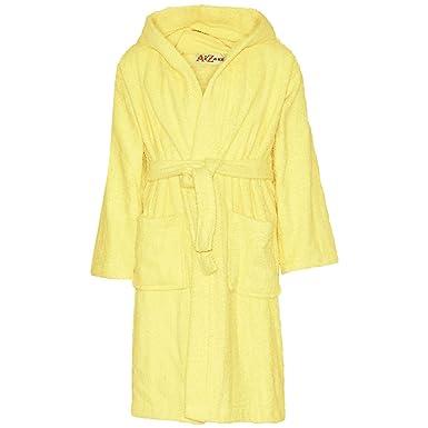 A2Z 4 Kids Albornoz con capucha para niños y niñas, de algodón ...