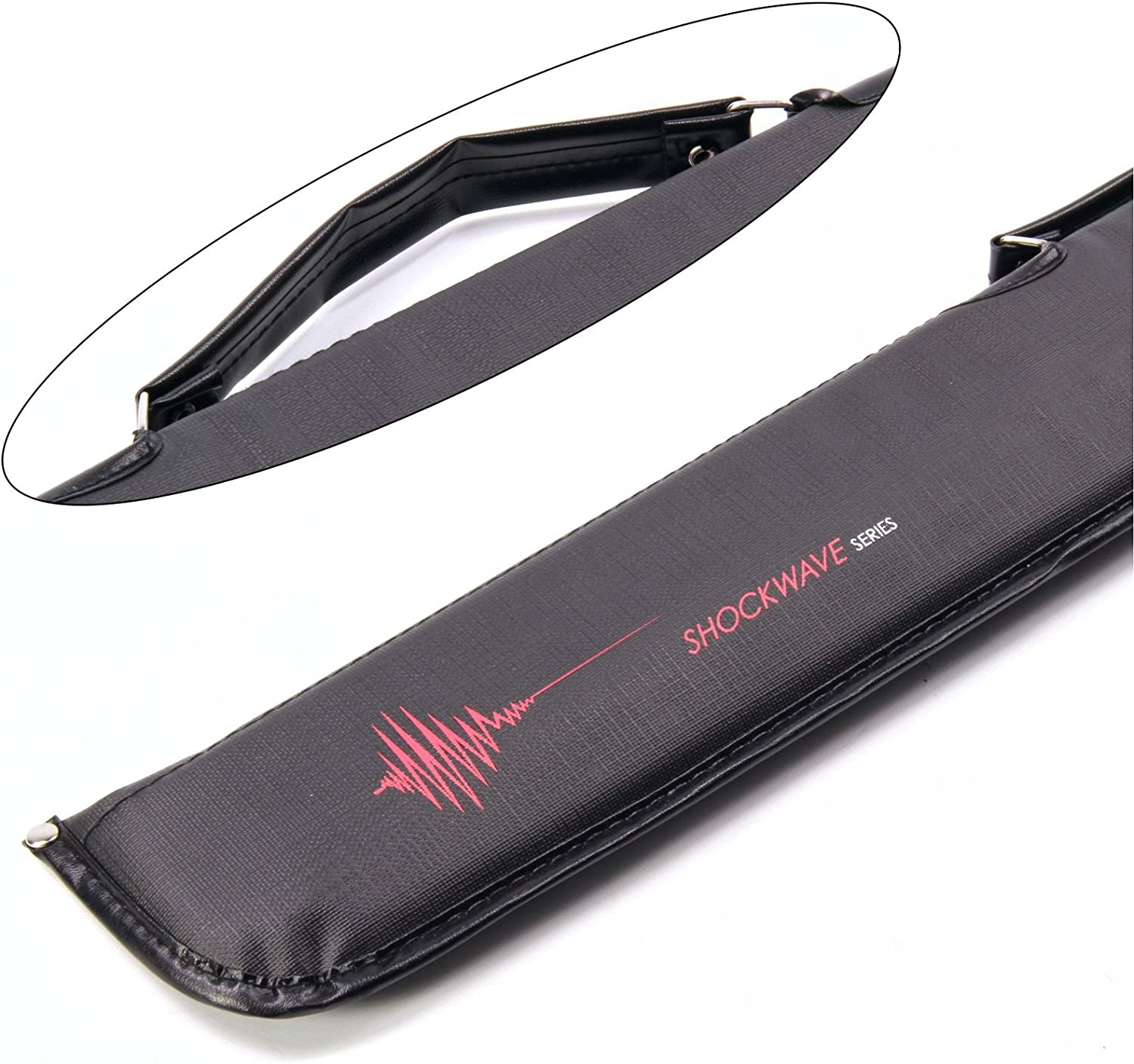 Riley BCE Shockwave Series Padded Soft Case Centre-Joint Pool Snooker Cues