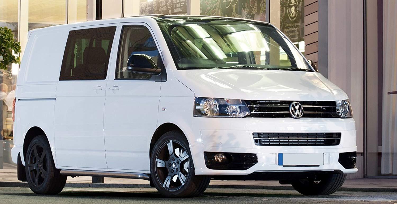 VW Volkswagen T5 Facelift Spoiler delantero enfoque FRONTAL Sportline Aler/ón