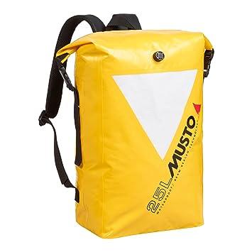 Musto Waterproof 25L Dry Backpack Beacon Yellow AL4770  Amazon.co.uk ... c2b7f6b8d7ec1