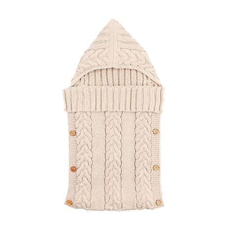 Hi8 Store – Saco de dormir para bebé infantil hecho a mano de punto de ganchillo