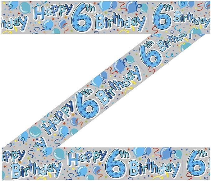 Edad 7 chicos 7th Kit de juego de Fiesta de Cumpleaños Globo De Banner Decoración insignia de vela