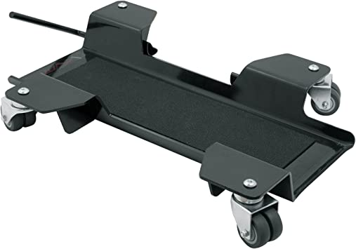 A Pro Cruiser Motorbike Stand Mover Garage Motorcycle Motorcross Trials Heavy Duty Auto