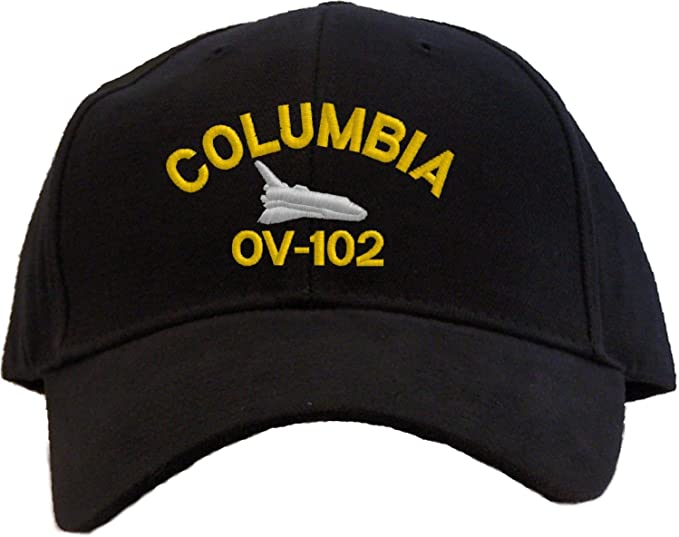 69386fdea12 Image Unavailable. Image not available for. Color  Space Shuttle Columbia OV -102 Embroidered Baseball Cap ...