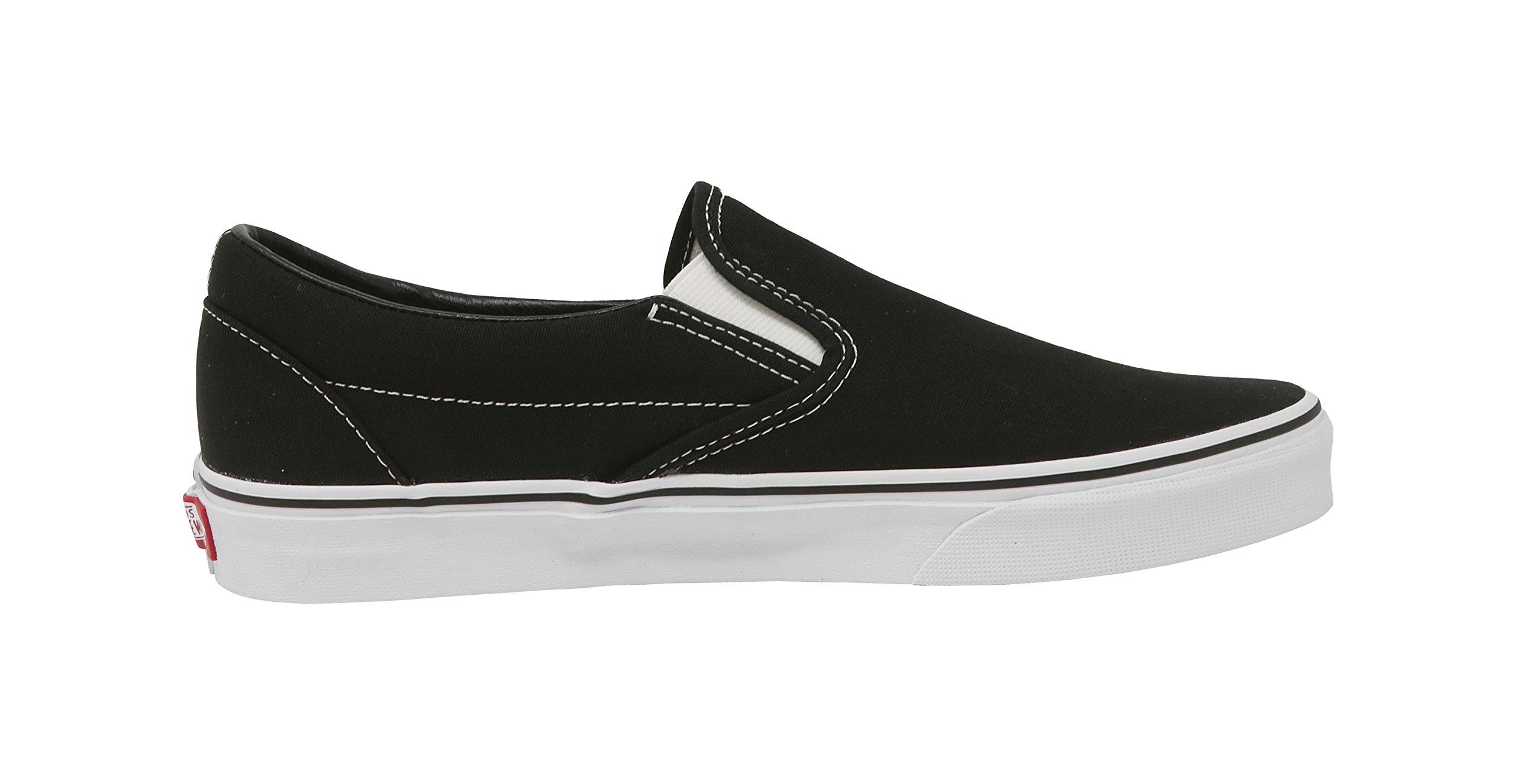 Vans U Classic Slip-On Skate Shoe Black 9.5 D(M) US by Vans (Image #3)