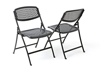 Mity Lite Flex One Folding Chair, Black, 4 Pack by Flex One Folding Chair