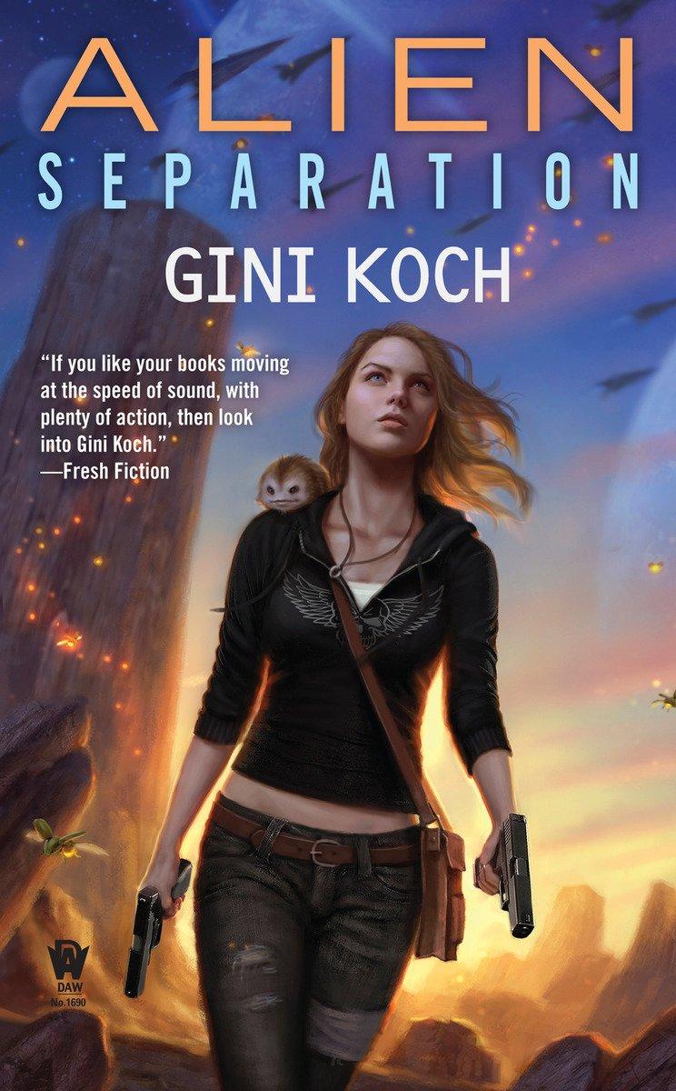 Alien Separation Novels Gini Koch product image