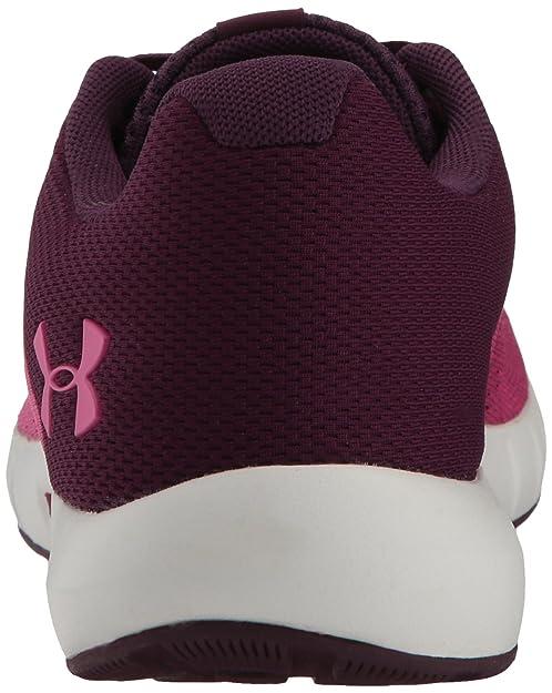 Amazon.com | Under Armour Womens Micro G Pursuit Running Shoe, Merlot (501)/Elemental 6 M | Road Running