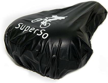 Bicycle Saddle Waterproof Rainproof Seat Cover Plastic Rain Cover Black Covering