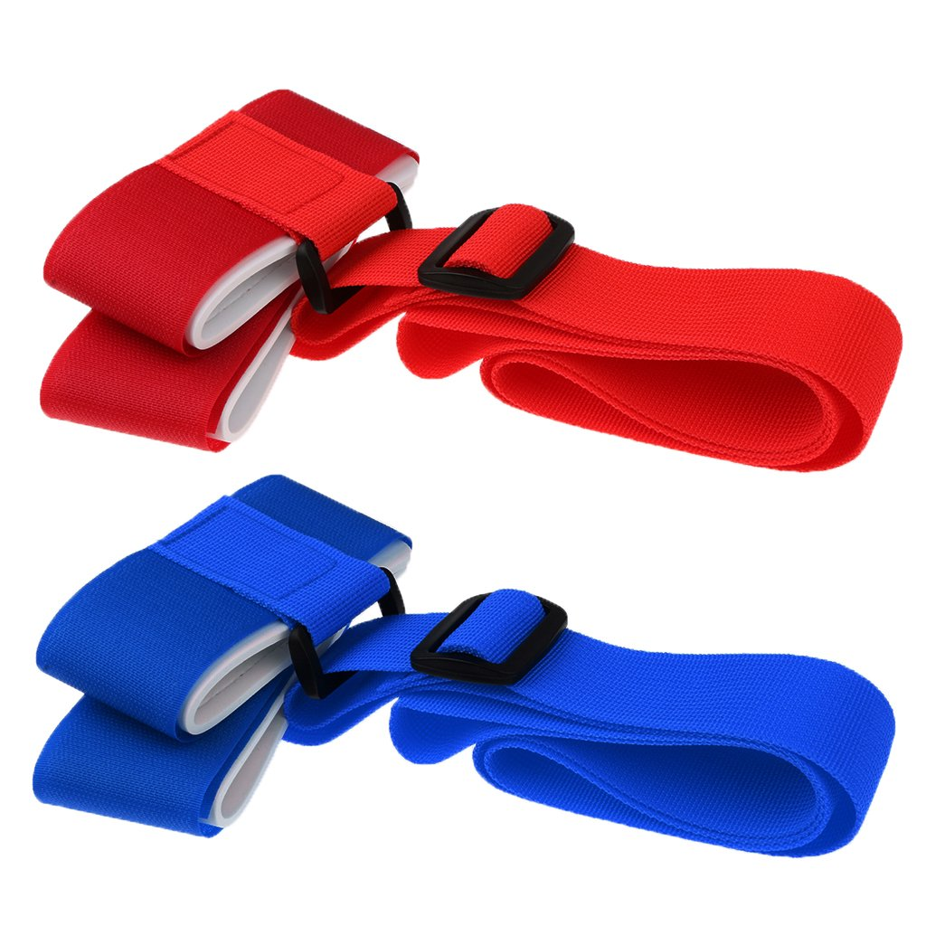 Sharplace 2 Pcs de Latigazo de Portador de Hombro Correa Ajustable de Esqui de Nylon