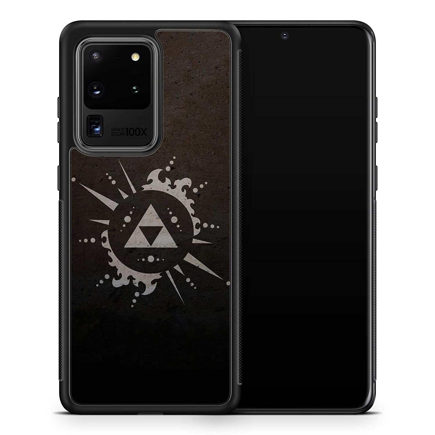 Inspired by Legend Zelda for Samsung Galaxy A51 A50 A20 Case Galaxy A10e Case Breath Wild Triforce Phone Cover G21