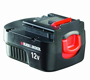 Black and Decker A12E-XJ - Batería de 12 V, 1 Ah