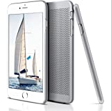 iPhone 6 Plus Case, LoHi(TM) Apple iPhone 6 Plus Cover Slim Case Protective Ultra Thin Defender Lightweight Mesh Hard PC Back Case for iPhone 6 Plus 5.5 Inch(Silver)