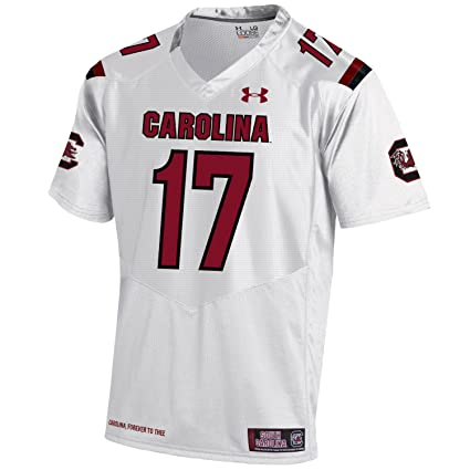 Under Armour South Carolina Gamecocks HG White Sideline Football Jersey  (2XL) 1619dce4a