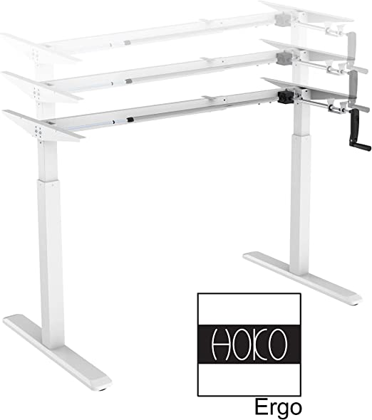 HOKO® Ergo-Work-Table Basic - Patas de Escritorio para Mesa de 2,5 ...