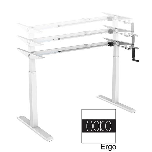 HOKO® Ergo-Work-Table Basic - Patas de Escritorio para Mesa de 2,5 ...