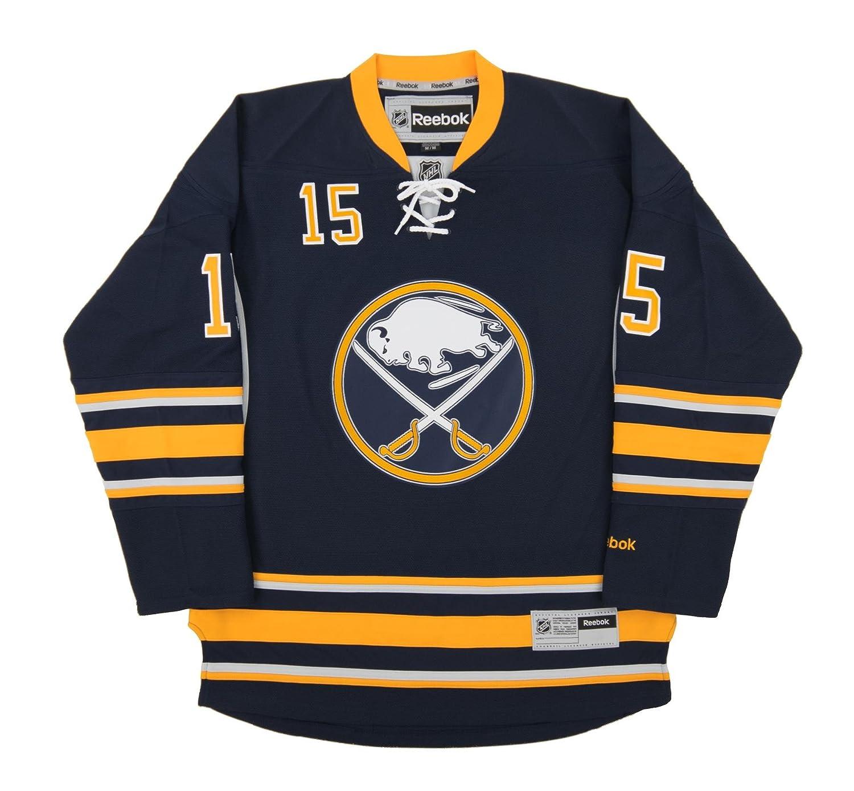 new style d4ac3 bb6dd Reebok Jack Eichel Buffalo Sabres Premier Replica Home NHL Jersey Blue