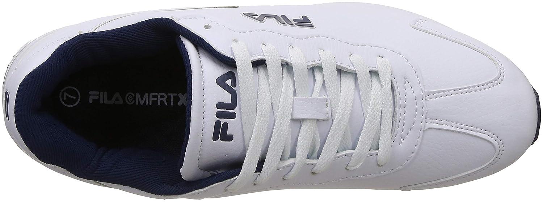 Buy Fila Men's Elford Wht/Pea Sneakers