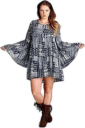 Women/'s Tie Dye Baby Doll Dress Sun Beach Dress Hand embroidery Summer Clothing