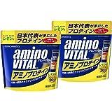 アミノバイタル アミノプロテイン レモン味 30本入パウチ【2個セット】